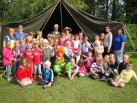 BSO kamp groepsfoto