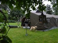 feestje 5x15m in de tuin in legertent