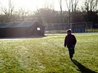 H10 tent tijdens trainingsweekend