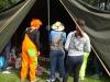 BSO kamp clown in de tent